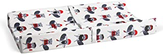 """product image for Glenna Jean Beaver Buddies 16"""" x 32"""" Changing Pad Cover for Baby Nursery"""