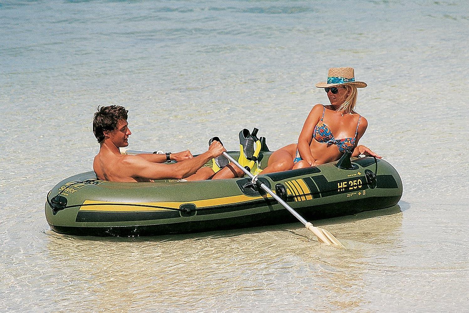 Sevylor Fishhunter - Bote de Pesca Hinchable Verde Verde Talla ...