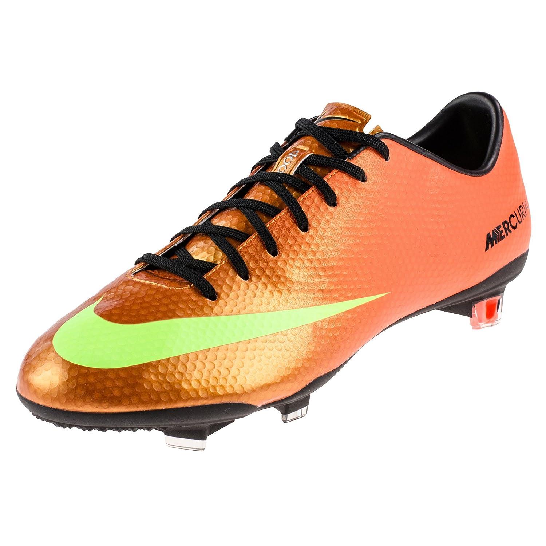 Orange Nike Mercurial Vapor Herren Fußballschuhe
