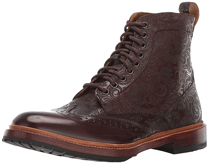 Stacy Adams Men's M2 Wingtip Lace Up Boot Ankle by Stacy Adams