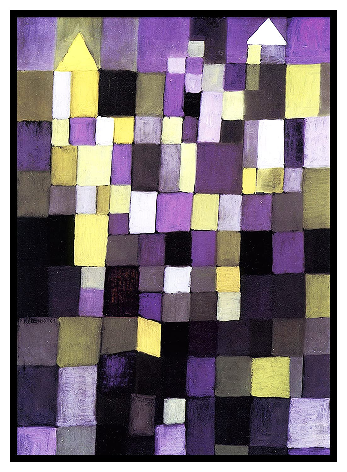 Orenco Originals Architecture Expressionist Artist Paul Klee Counted Cross Stitch Pattern
