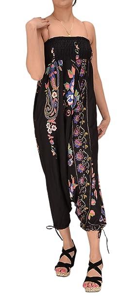 Amazon.com: Faldas n Bufandas Mujer Algodón Maxi Impresión ...