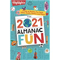 Image for The 2021 Almanac of Fun: A Year of Puzzles, Fun Facts, Jokes, Crafts, Games, and More! (Highlights Almanac of Fun)