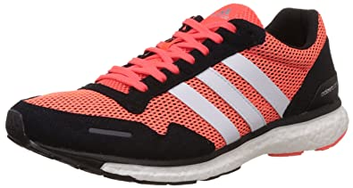 new york e5dd0 02493 adidas Adizero Adios 3, Chaussures de Running Compétition Homme,  Multicolore-Multicolor (Solar