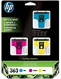 HP CB333 Cartouche d'encre d'origine Cyan/Magenta/Jaune lot de 3