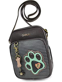 234b87be50 Chala Organizer Crossbody Cell Phone Purse-Women Faux Leather Multicolor  Handbag with Adjustable Strap