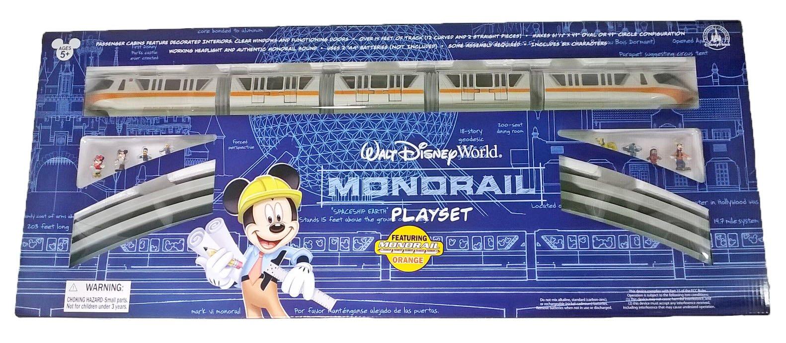 Walt Disney World Resort Monorail Play Set for Kids