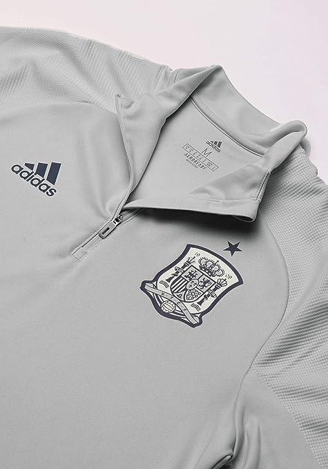 adidas FEF TR Top Camiseta de Entrenamiento Federación Española de Fútbol, Hombre, Gris (Grpudg/Grinoc/Rojo), XS: Amazon.es: Deportes y aire libre