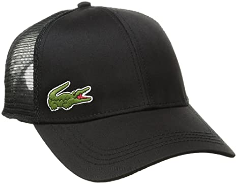 lacoste baseball cap green marine beige men trucker black