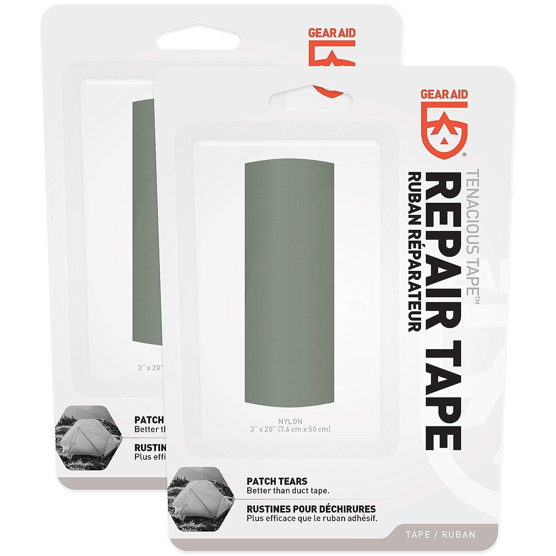 "3/"" x 20/"" Gear Aid Tenacious Tape Fabric and Vinyl Repair Tape"