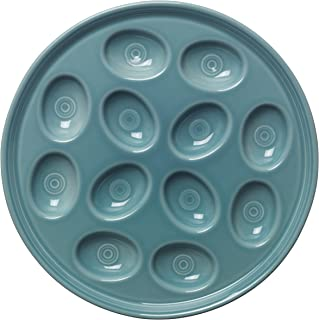product image for Fiesta 11-Inch Egg Tray, Turquoise