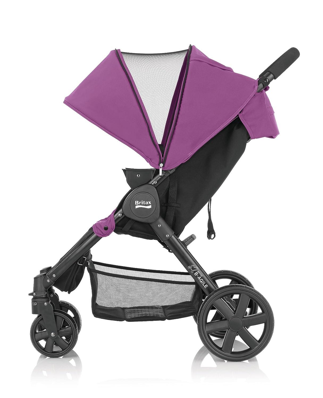 3f3f8b2b02 Britax Romer B-Agile 4 Pushchair - Black Thunder  Amazon.co.uk  Baby