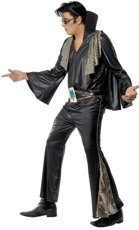 Smiffys - Disfraz de Elvis PresleyTM para hombre, talla M (48/50 ...