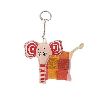Amazon.com: Llavero blando de elefante ABA: Toys & Games