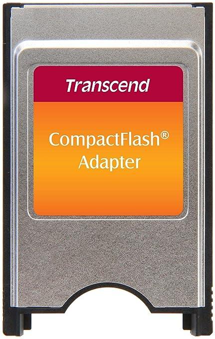 Transcend TS0MCF2PC - Adaptador para Tarjetas de Memoria Compact ...