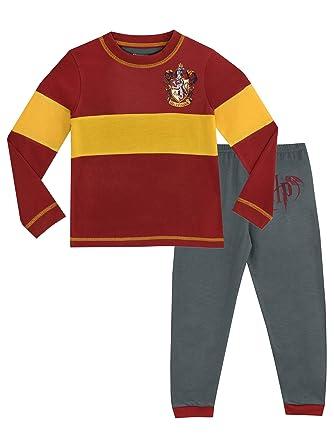 Harry Potter - Pijama para Niños - Gryffindor: Amazon.es: Ropa y accesorios