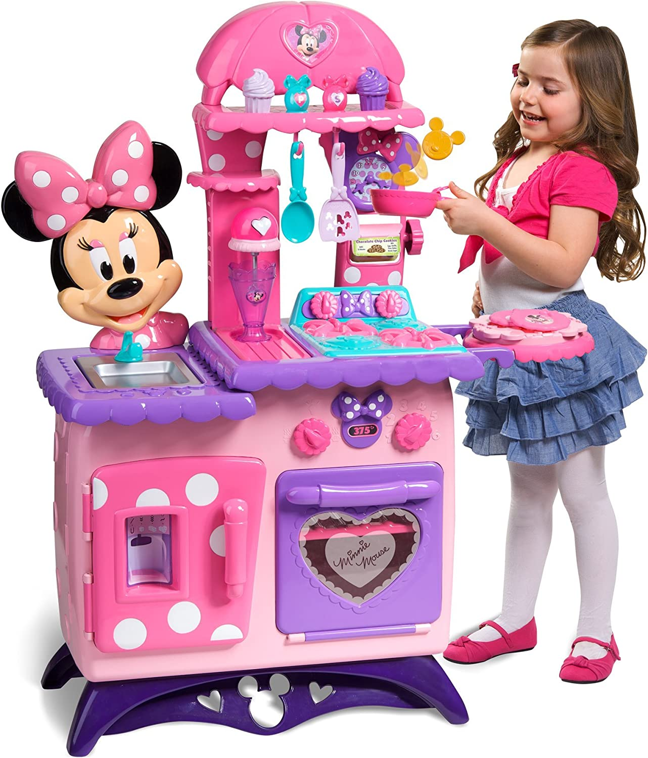 Amazon Com Minnie Mouse Flippin Fun Kitchen Toys Games