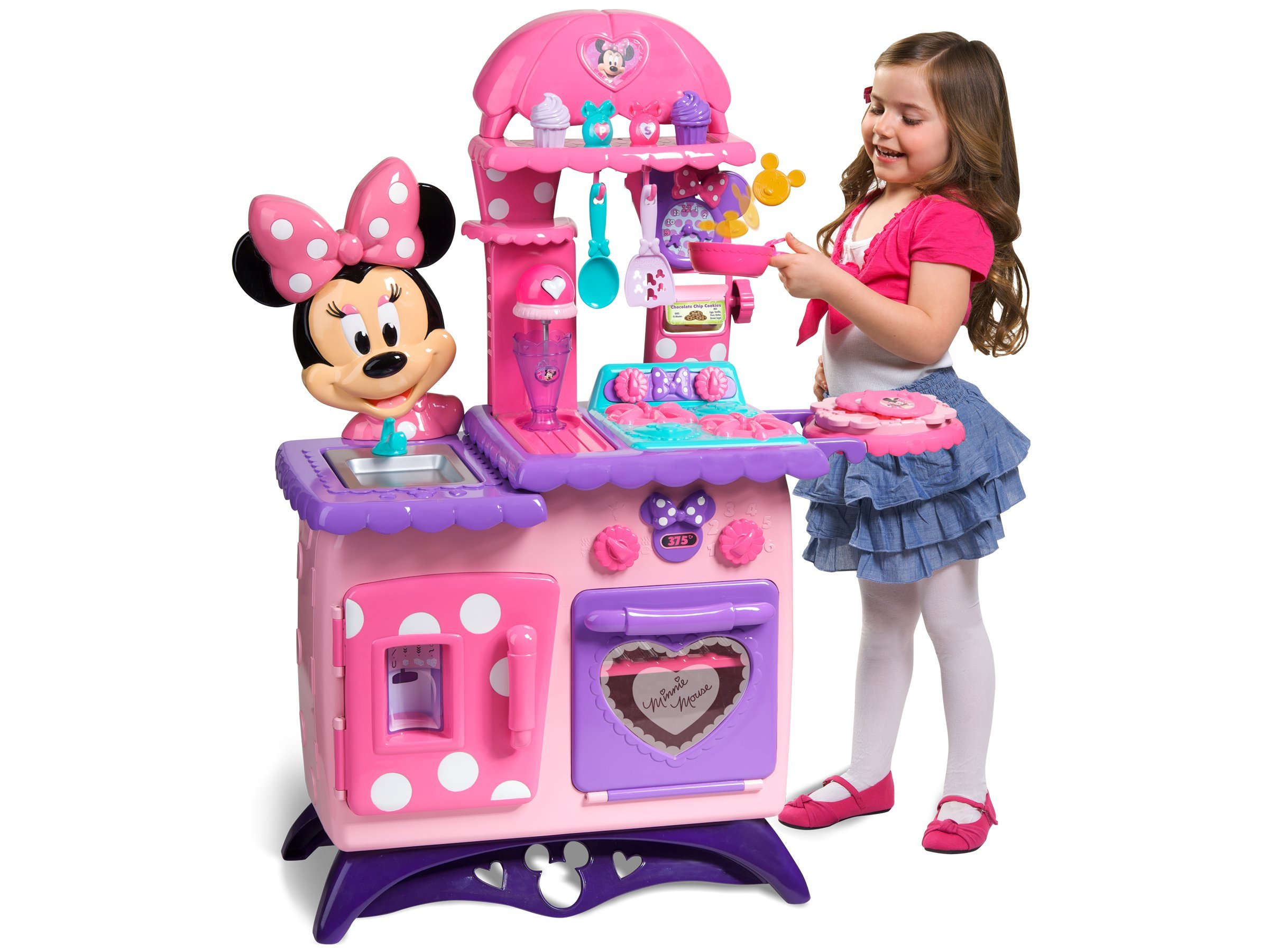 Minnie Mouse Flippin Fun Kitchen by Just Play