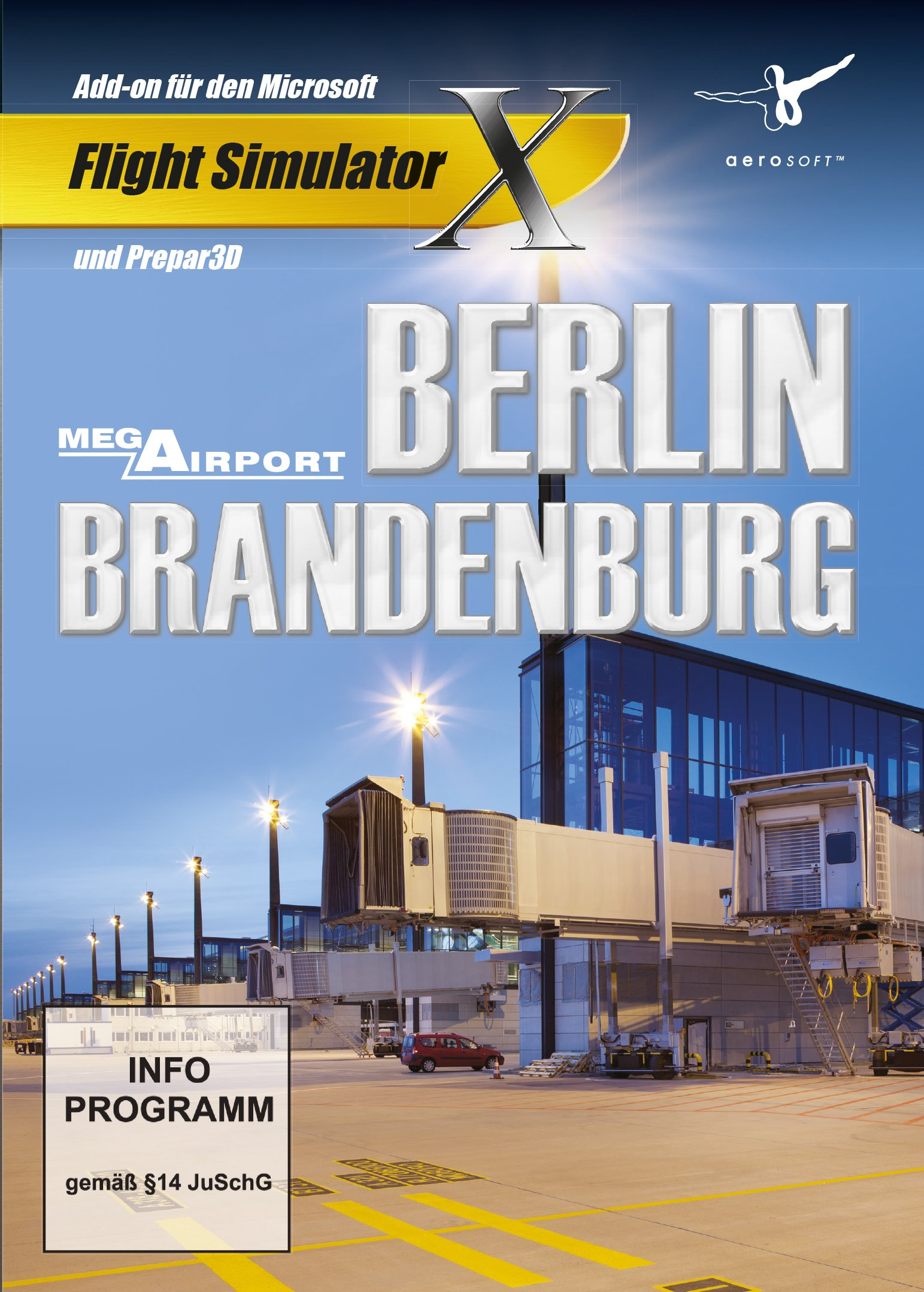Amazon com: AddOn FSX Mega Airport Berlin-Brandenburg: Video