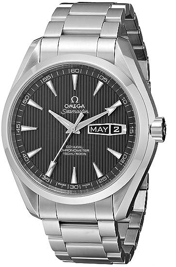 Omega de hombre 231.10.43.22.06.001 Seamaster Tech gris Dial reloj