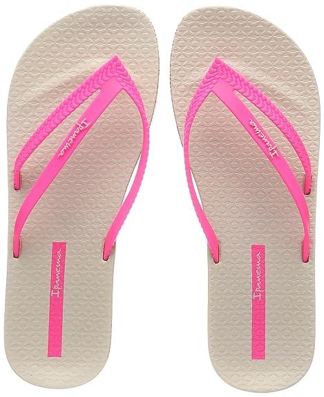 Ipanema Bossa Soft II Fem, Chanclas para Mujer, Multicolor (Beige/Pink 8867), 37 EU
