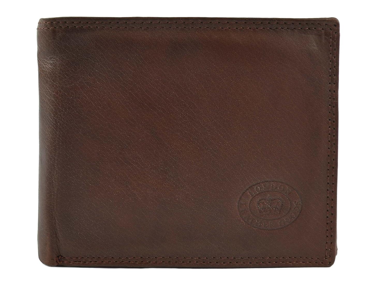Nuovo da Uomo Qualità Portafoglio in pelle Morbida da London Leather Goods