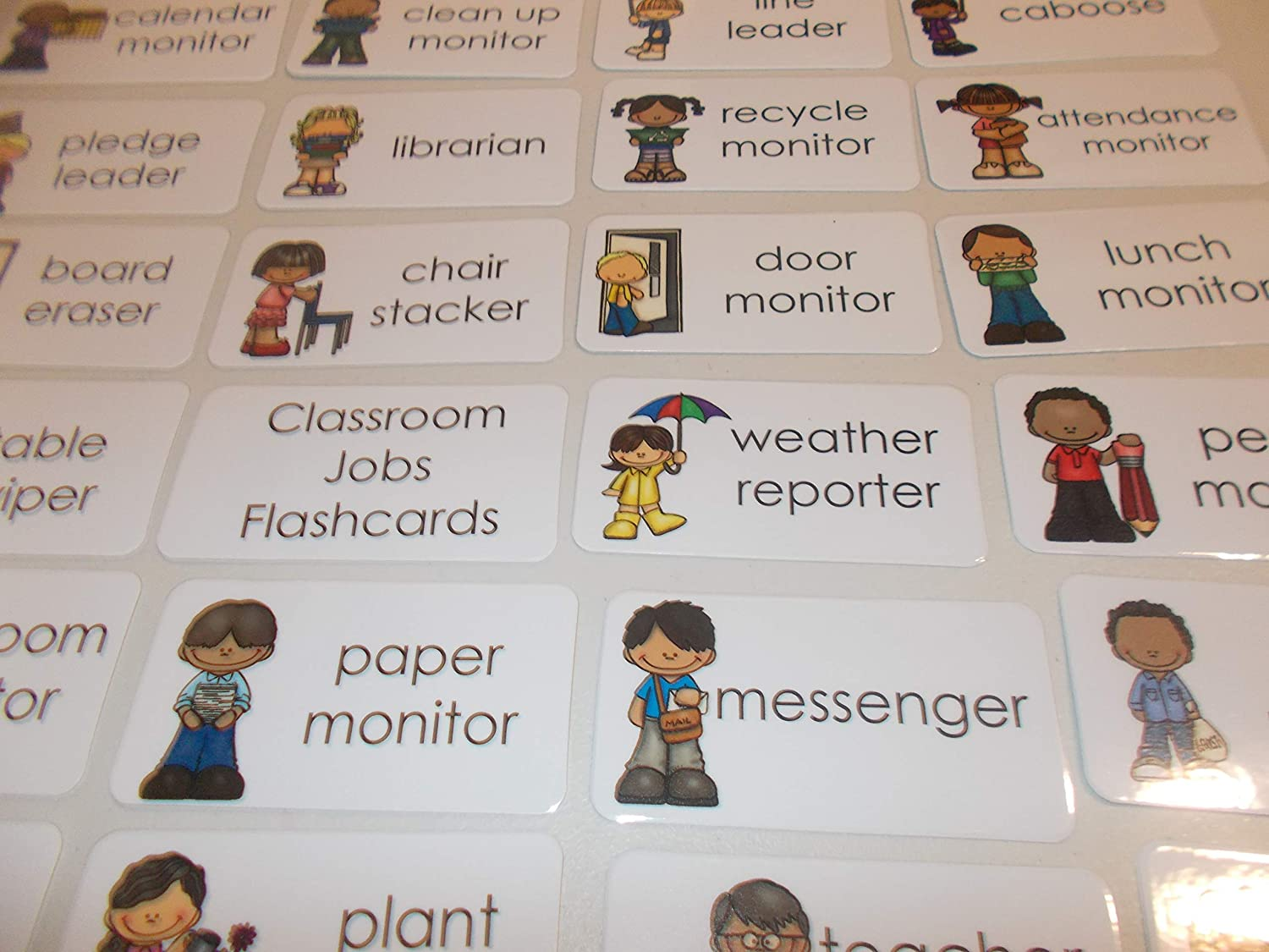 23 Laminated Classroom Jobs Flashcards. 81kRjp2BwioL