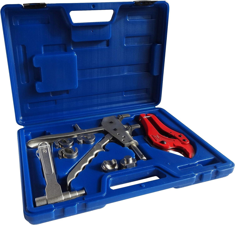 Outillage tube PER coupe tube et emboiture calibreur Pince /à sertir PER /& Multicouche H et TH