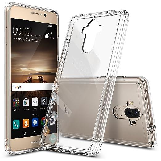 7 opinioni per Custodia Huawei Mate 9, Ringke [FUSION] Retro PC Trasparente Respingente in TPU