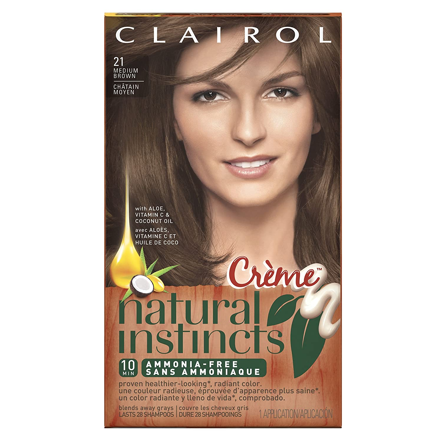 Amazon Clairol Natural Instincts Hair Color Creme 21