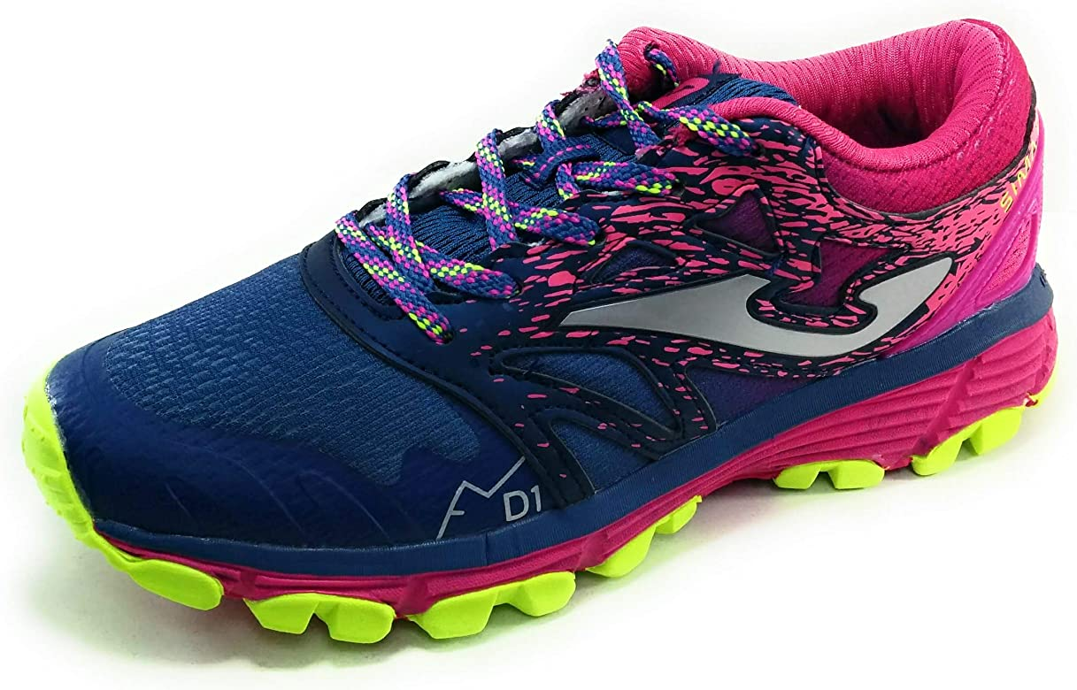 Joma Sima Jr Zapatillas Trail Running para niña: Amazon.es ...