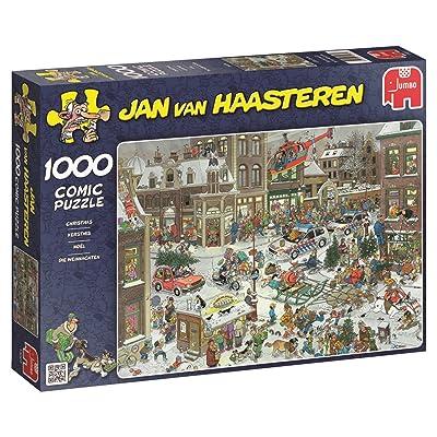 Jumbo Jan Van Haasteren Christmas Jigsaw Puzzle (1000 Piece): Toys & Games
