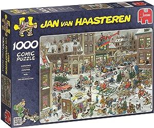Jumbo Jan Van Haasteren Christmas Jigsaw Puzzle (1000 Piece)