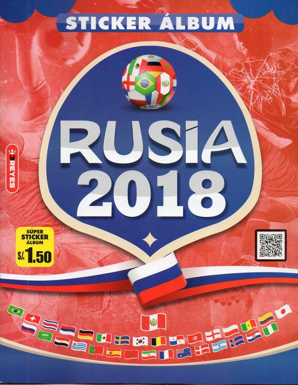 Album Mundial Futbol Rusia 2018 3 Reyes NAVARRETE FOOTBALL FIFA WORLD CUP RUSSIA 2018 STICKER PERUVIAN ALBUM: Amazon.es: 3Reyes, 3 Reyes, Navarrete: Libros