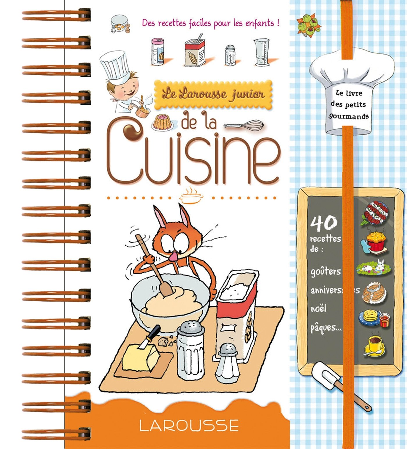 Larousse Junior De La Cuisine French Edition Collectif