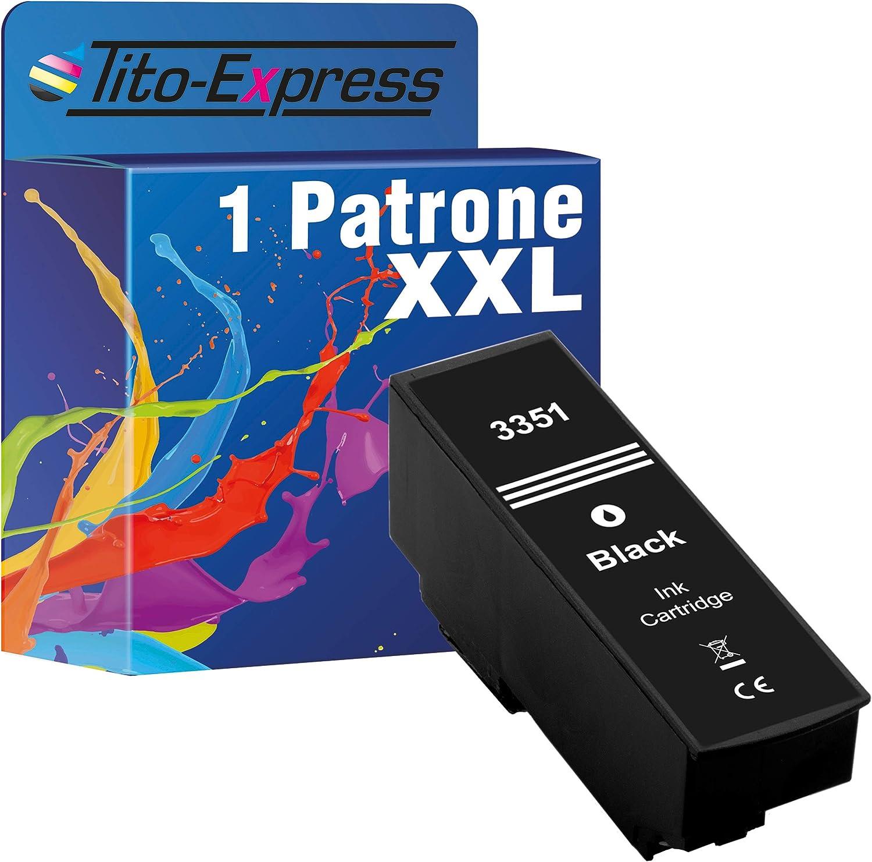 Tito Express Platinumserie 1 Patrone Xxl Kompatibel Mit Epson T3351 T3364 33xl Für Expression Premium Xp 640 Xp 900 Xp 645 Xp 540 Xp 7100 Xp 630 Xp 635 Xp 830 Xp 530 Black 28ml Bürobedarf Schreibwaren