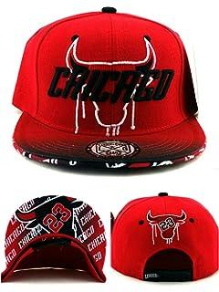 1d0179a3c5d Chicago New Leader 23 Shadow Drip Head Bulls Colors Red Black Era Snapback Hat  Cap