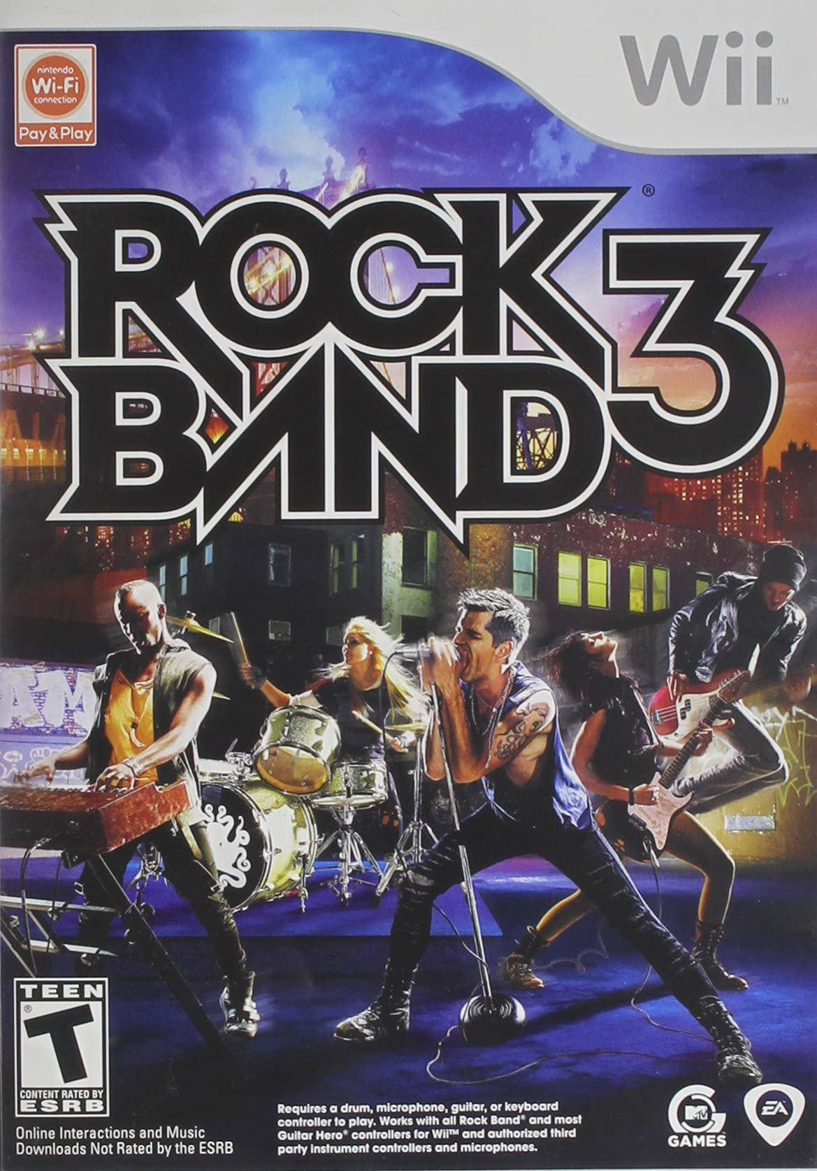 Amazon com: Rock Band 3: Nintendo Wii: Video Games