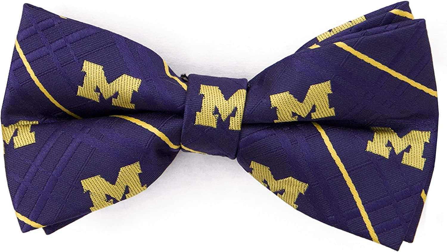 Eagles Wings University of Michigan Oxford Bow Tie