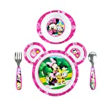 Amazon Price History for:The First Years Disney Baby Minnie Mouse 4-Piece Feeding Set