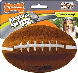 Nylabone Power Play Dog Felt Football Gripz 5.5