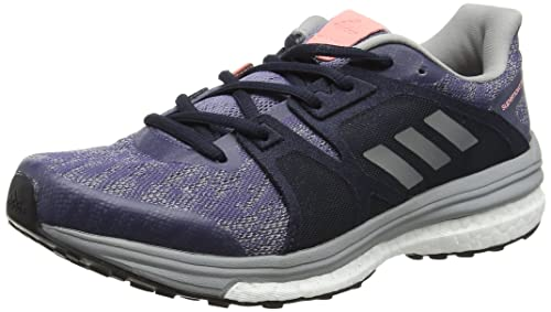 hot sales 5ad6a 1ff99 adidas Women s Supernova Sequence 9 Running Shoes, (Super  Purple Silvermetallic Mid Grey