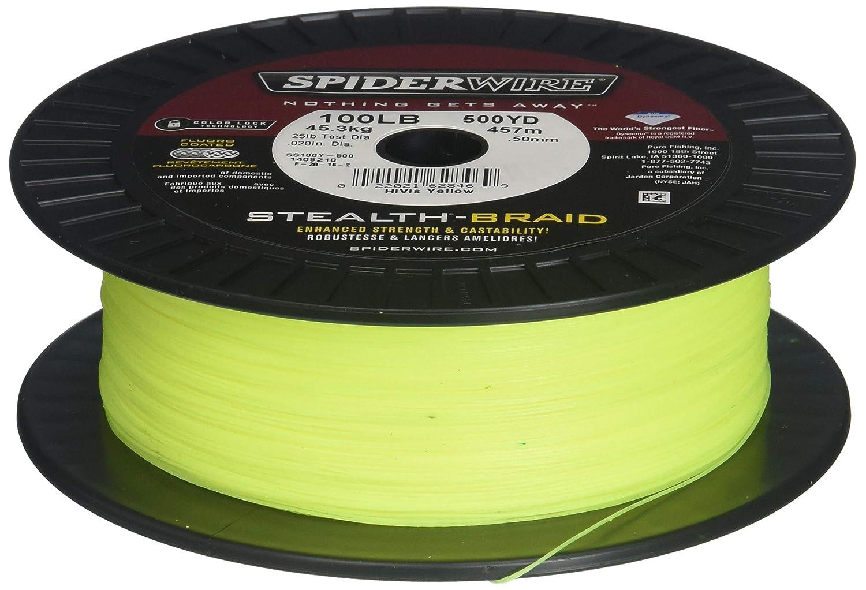 最安値に挑戦! SpiderwireステルスBraid Pound/Diameter 1500-yardスプール 1500-yardスプール B0036U2180 1500-Yard 20/6 Spool, 20/6 Pound/Diameter|イエロー(Hi-Vis Yellow) イエロー(Hi-Vis Yellow) 1500-Yard Spool, 20/6 Pound/Diameter, 置戸町:9b1a55ab --- a0267596.xsph.ru