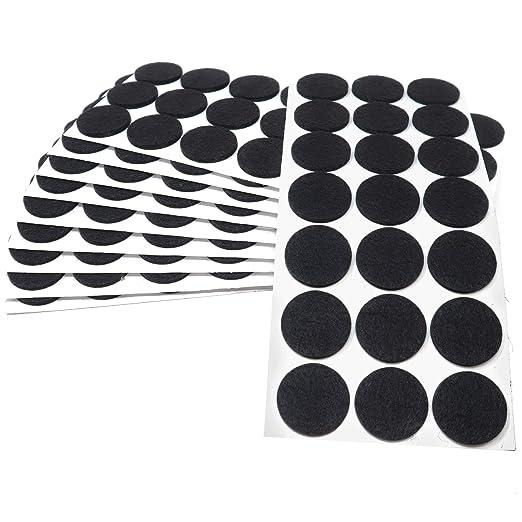 gris /Ø 30 mm 21 x almohadillas de fieltro con grosor de 3,5 mm de la m/áxima calidad auto-adhesivos redondo Adsamm/® Protectores de suelo para patas de mueble
