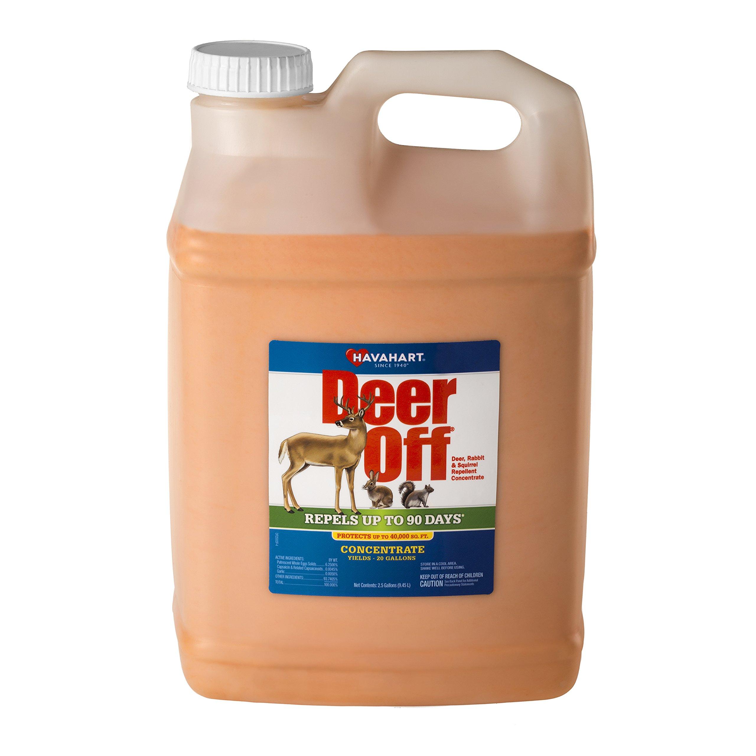 Deer Off Deer, Rabbit and Squirrel Repellent Concentrate, 2.5 gallon