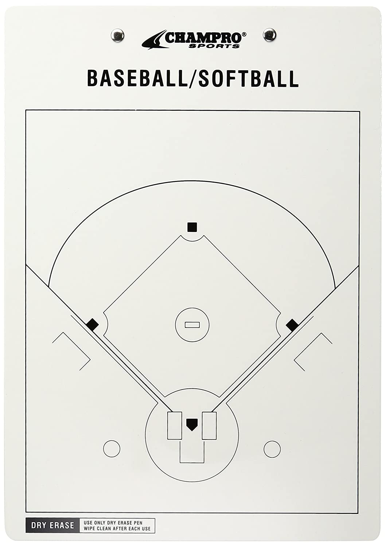Amazon champro baseballsoftball board white 12 x 9 inch amazon champro baseballsoftball board white 12 x 9 inch coaches marker boards sports outdoors pooptronica Gallery