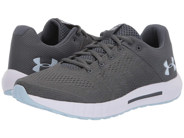 誠実 [アンダーアーマー] レディースランニングシューズスニーカー靴 UA Gray/White/Coded Micro G Pursuit Pursuit [並行輸入品] B07N8F1MZ7 Pitch B07N8F1MZ7 Gray/White/Coded Blue 26.5 cm B 26.5 cm B Pitch Gray/White/Coded Blue, チブムラ:29ba54c2 --- svecha37.ru