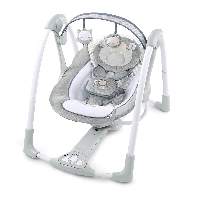 Ingenuity Power Adapt Portable Swing - Braden Kids II - (Carson CA) 10846-3