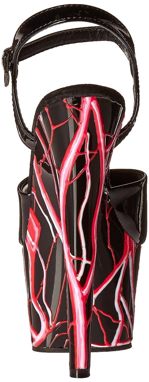 Pleaser Women's Ado709nlb/b/b-nhp Platform Sandal B00KJABG9U 5 B(M) US|Black/Black/Neon Holo Pink
