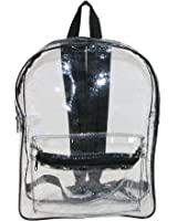 Liberty Bags Clear Backpack with Adjustable Straps
